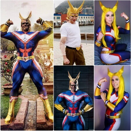best all might cosplay