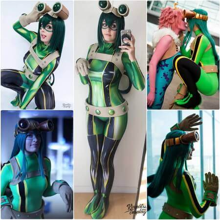 best Tsuyu Asui cosplay