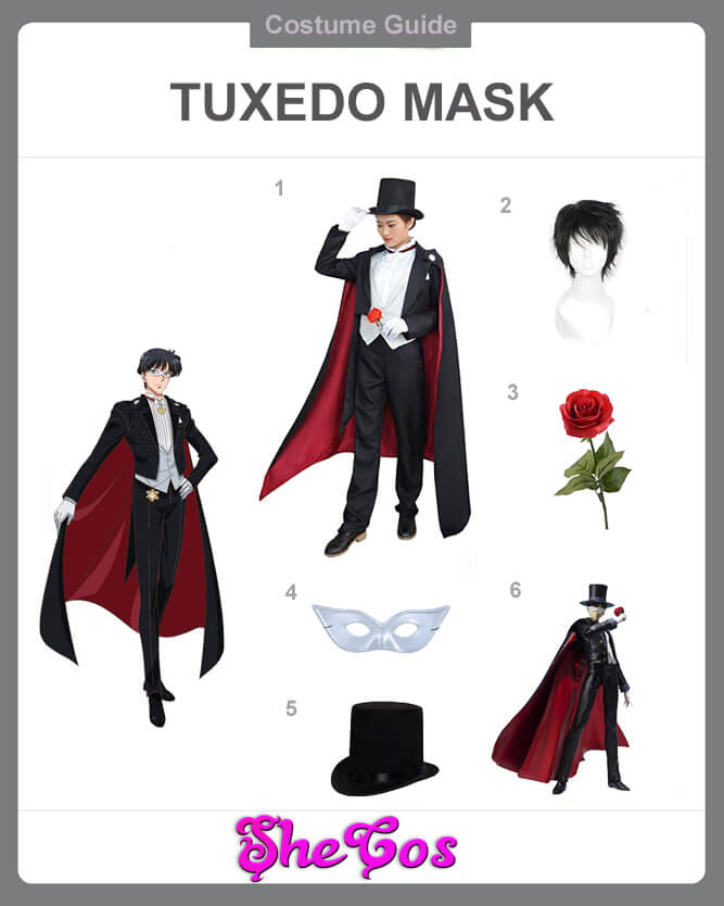 Tuxedo Mask cosplay guide