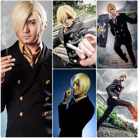 best one piece Vinsmoke Sanji cosplay