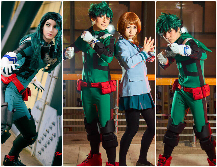How To Cosplay Izuku Midoriya Of My Hero Academia Shecos Blog