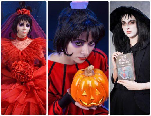 best Lydia Deetz costume