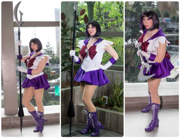 best Sailor Saturn cosplay