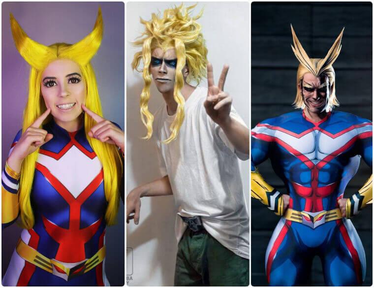 best Toshinori Yagi all might cosplay
