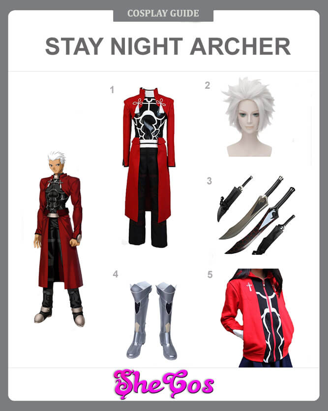 fate stay night archer cosplay guide