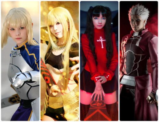 fate stay night cosplay