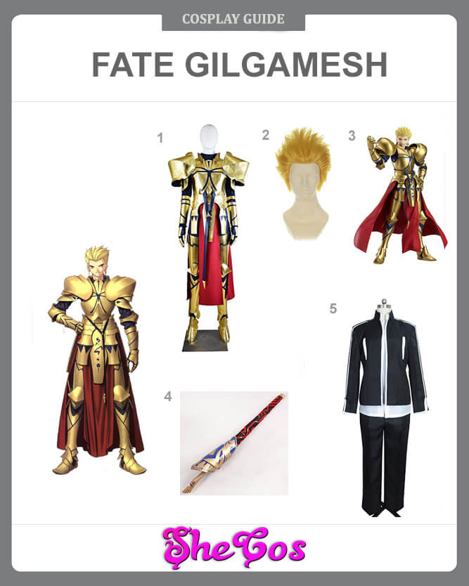 fate stay night gilgamesh cosplay guide