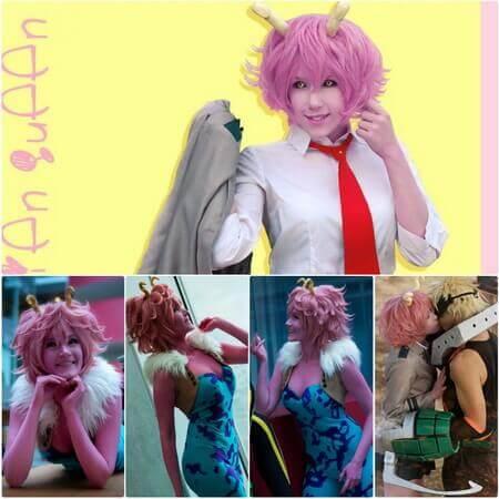 mina ashido cosplay