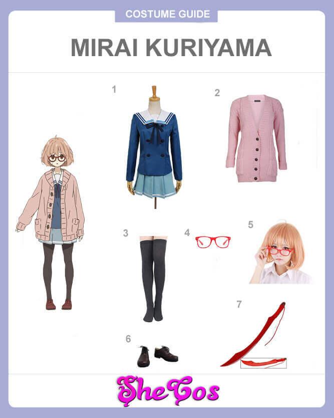 mirai kuriyama cosplay guide