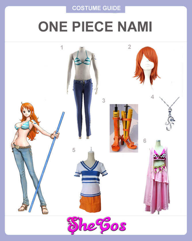one piece nami cosplay guide