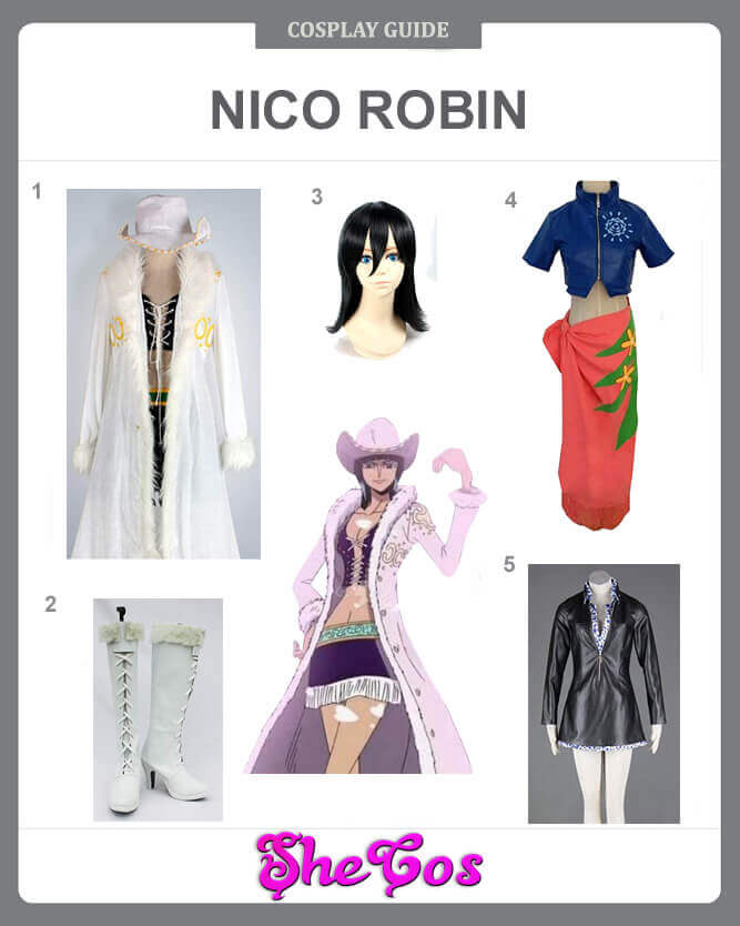 one piece nico robin cosplay guide