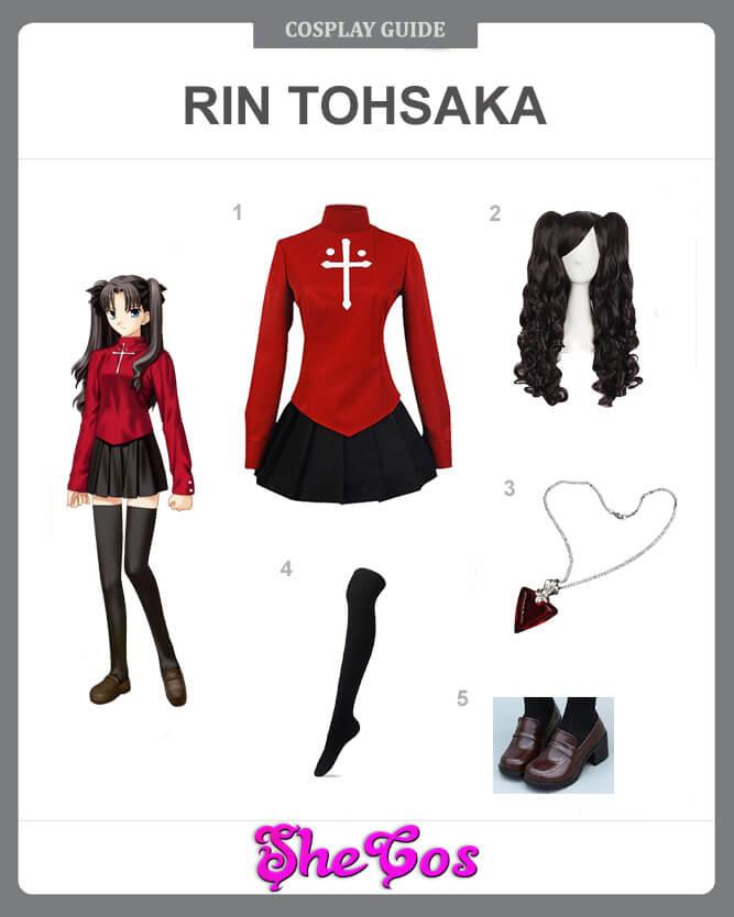 rin tohsaka cosplay guide