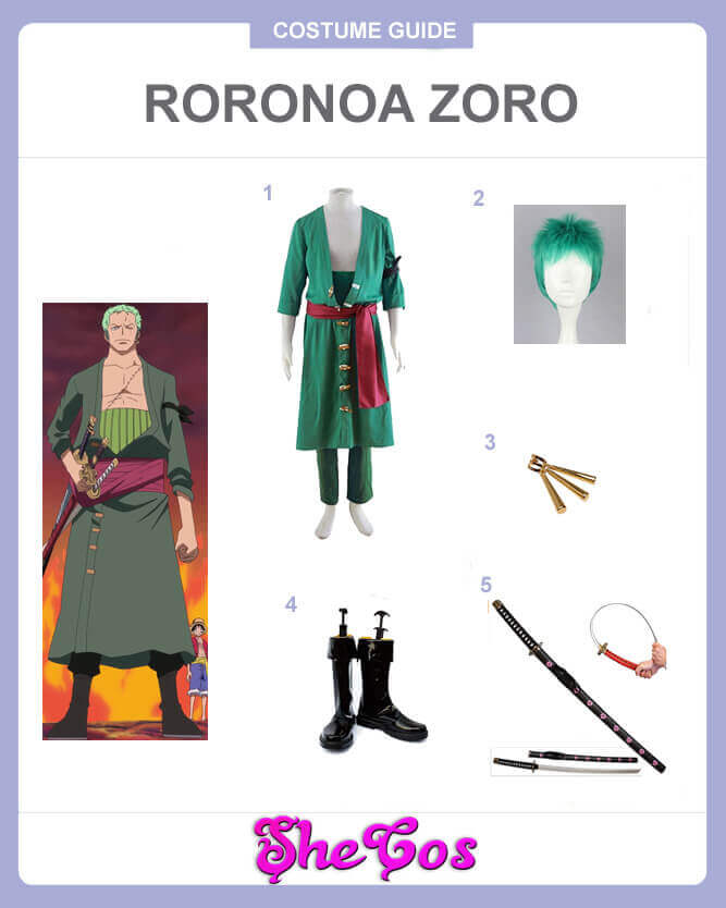 one piece roronoa zoro cosplay guide