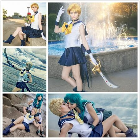 sailor uranus cosplay