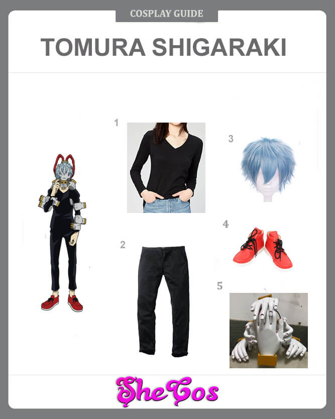 tomura shigaraki cosplay guide