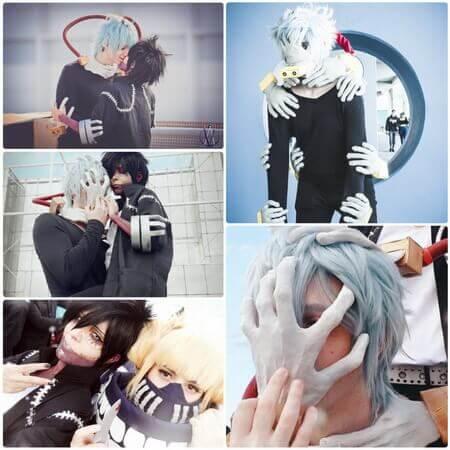 tomura shigaraki cosplay