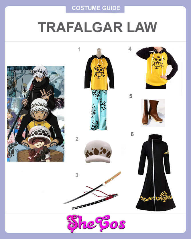 best one piece trafalgar law cosplay guide