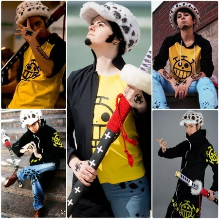 best one piece trafalgar law cosplay