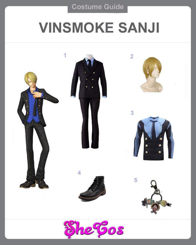 best one piece vinsmoke sanji cosplay guide