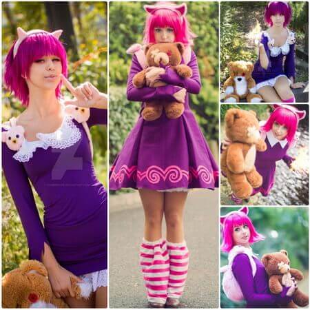 best LOL annie cosplay