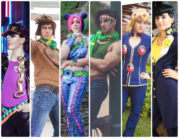 best JoJos Bizarre Adventure cosplay