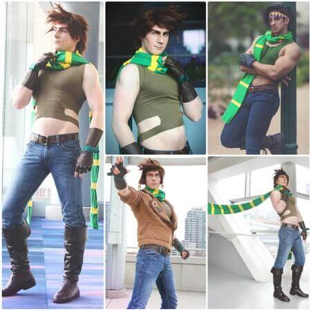 best joseph joestar cosplay