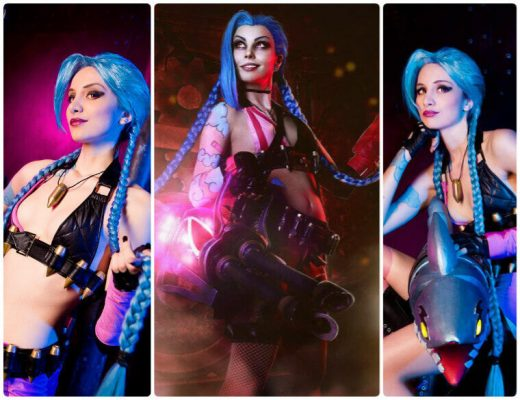 best League Of Legends Jinx cosplay