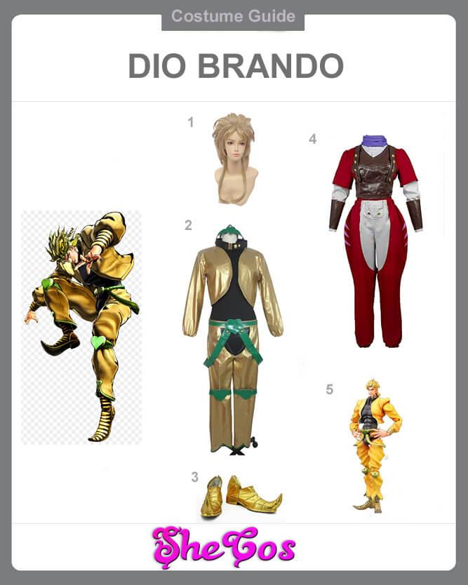 dio brando cosplay guide