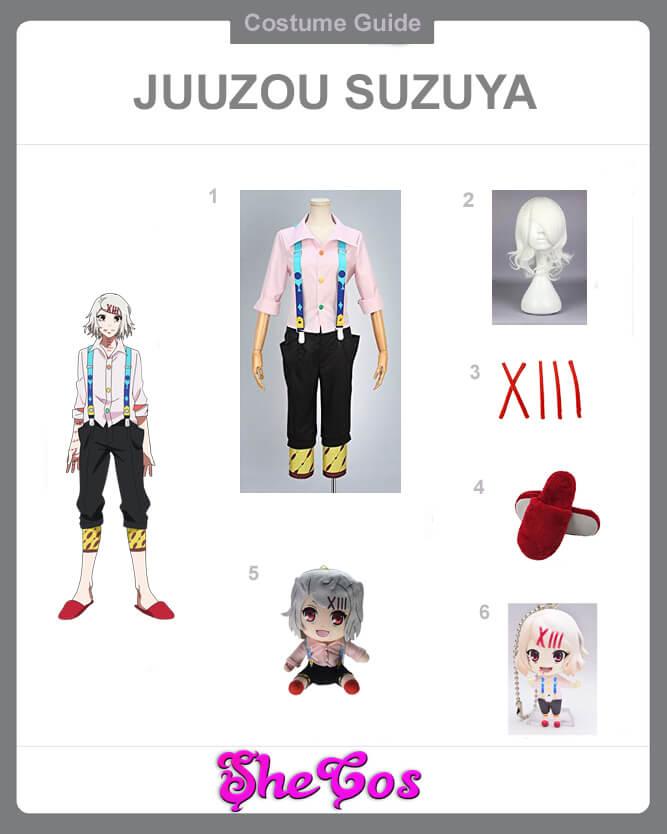 juuzou suzuya cosplay guide