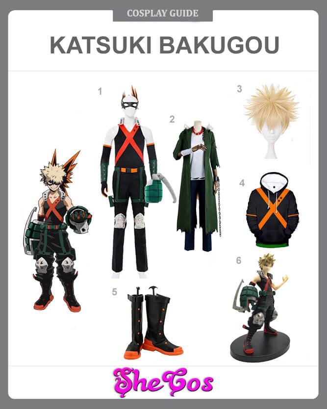 The Detailed Diy Guide To Katsuki Bakugou Costume Shecos Blog
