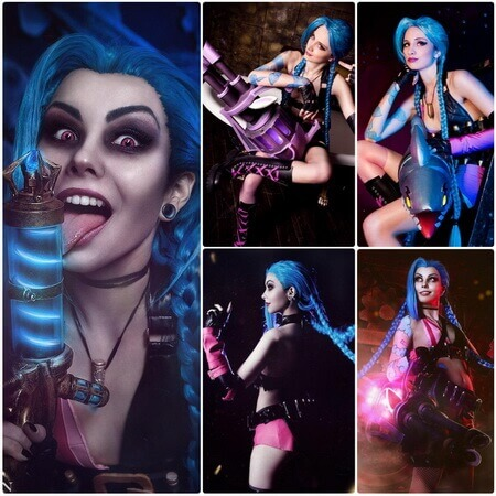 best lol Jinx cosplay
