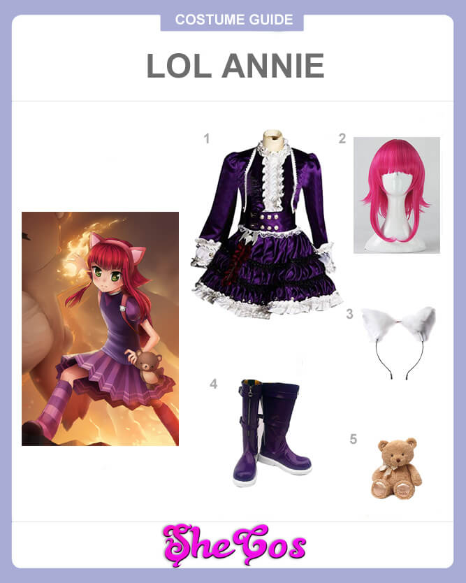 lol annie cosplay guide