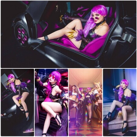best lol evelynn cosplay