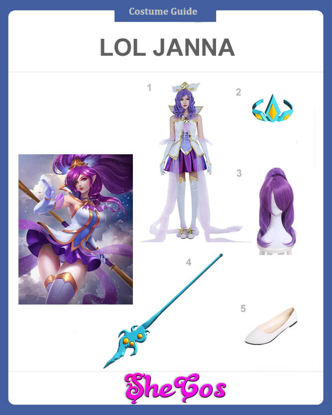 lol janna cosplay guide