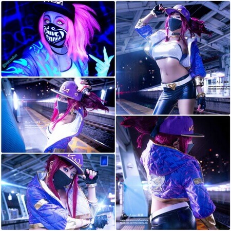 best lol akali cosplay