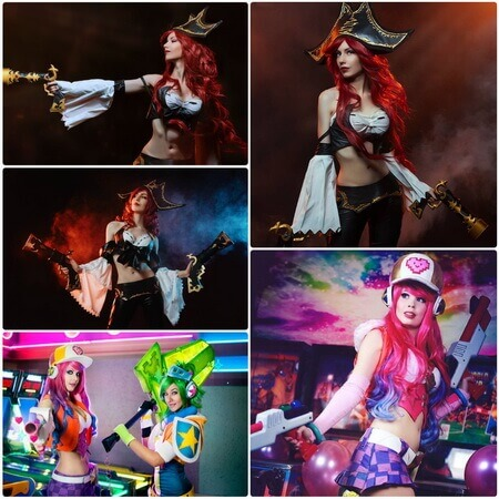 best lol miss fortune cosplay