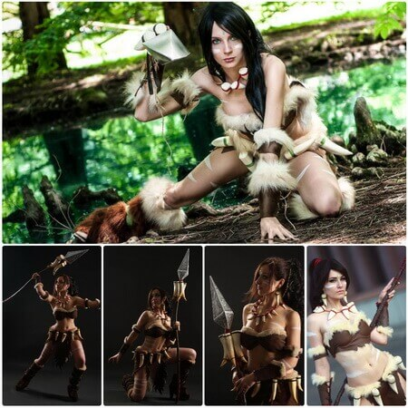 best lol nidalee cosplay