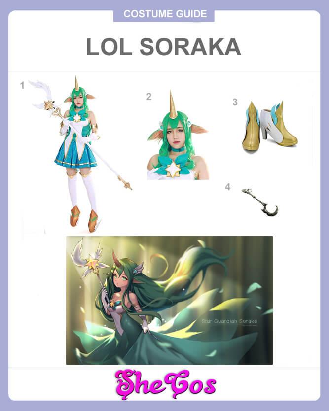 lol soraka cosplay guide