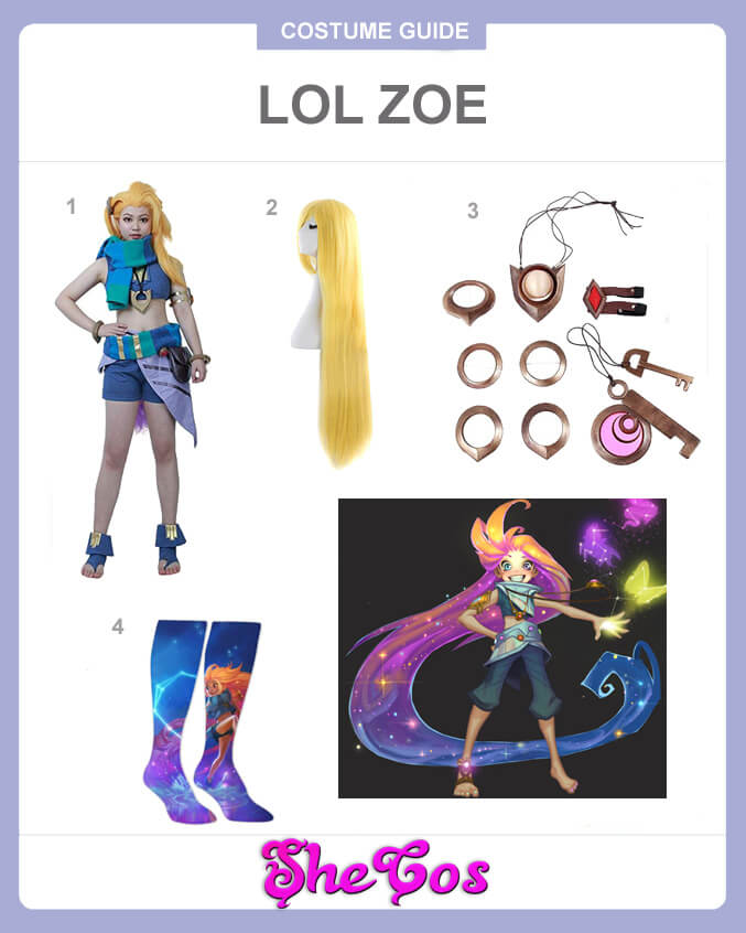 lol zoe cosplay guide
