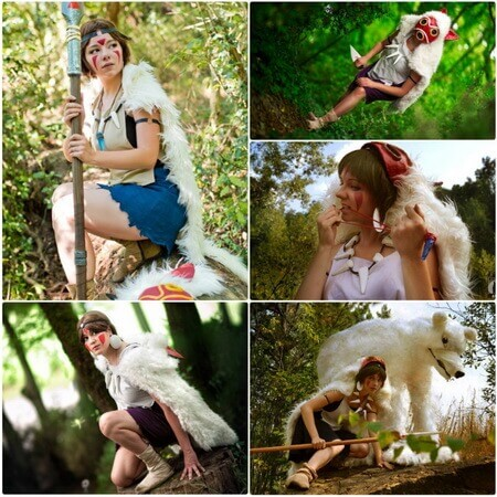 best princess mononoke cosplay