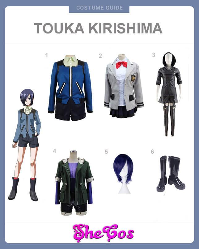 touka kirishima cosplay guide