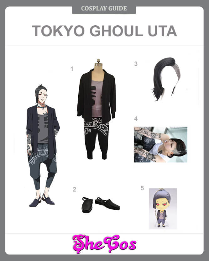 uta cosplay guide