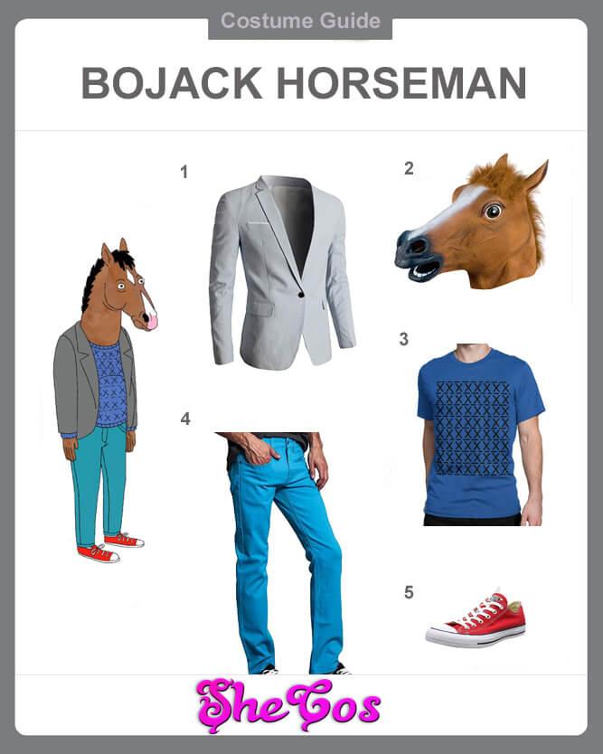 BoJack Horseman costume guide