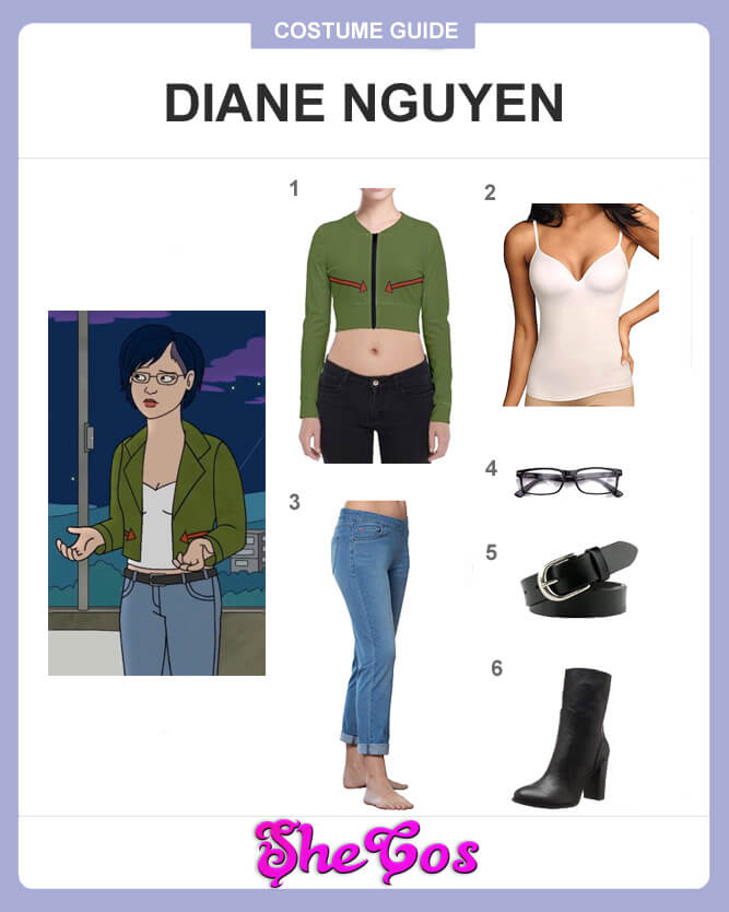 Diane Nguyen cosplay guide