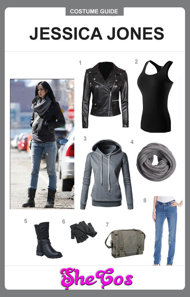 Jessica Jones costume guide
