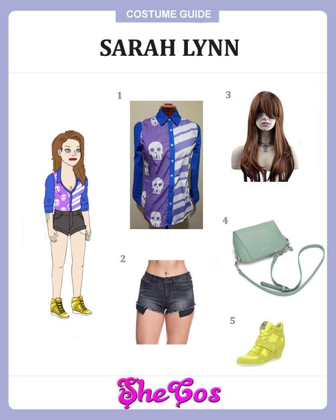 Sarah Lynn cosplay guide