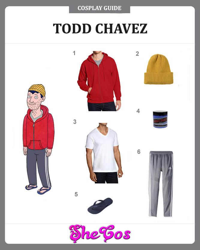 BoJack Horseman Todd Chavez cosplay guide