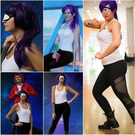 Turanga Leela cosplay
