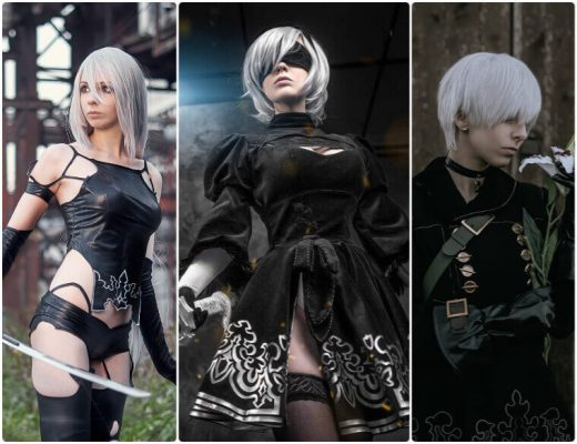 nier automata cosplay