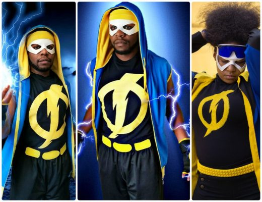 best static shock cosplay